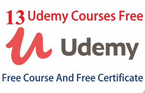 13 Free Udemy Courses | Free Online Courses