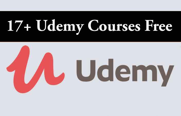 17+ Udemy Courses Free | Free Online Courses | Free Learning | Free Udemy Courses