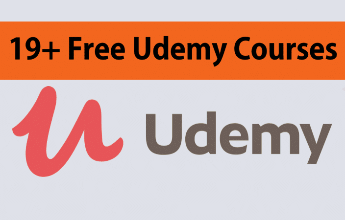 19+ Udemy Courses Free | Free Online Courses | Free Learning | Free Udemy Courses