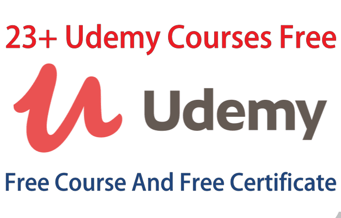 23+ Udemy Courses Free | Free Online Course With Certification | Free Udemy Course