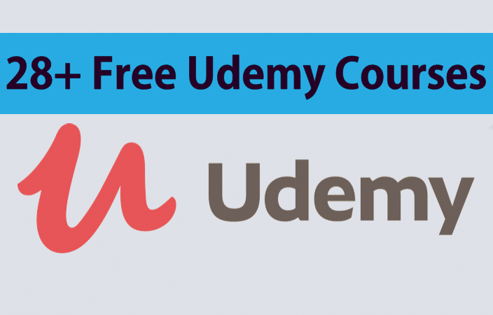 28+ Free Udemy Courses | Free Online Courses | Free Udemy Courses