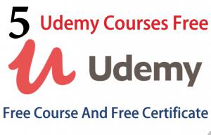 5 Udemy Courses Free   Free Udemy Courses   Free Online Courses   Massive Online Course