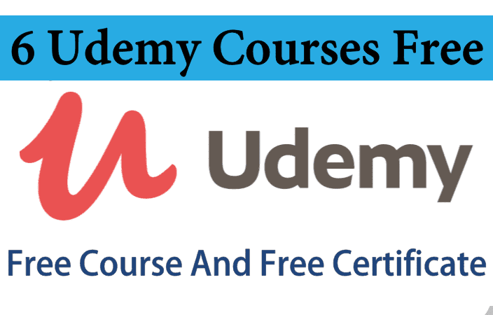 7 Udemy Courses Free | Free Online Course | Free Certification Courses