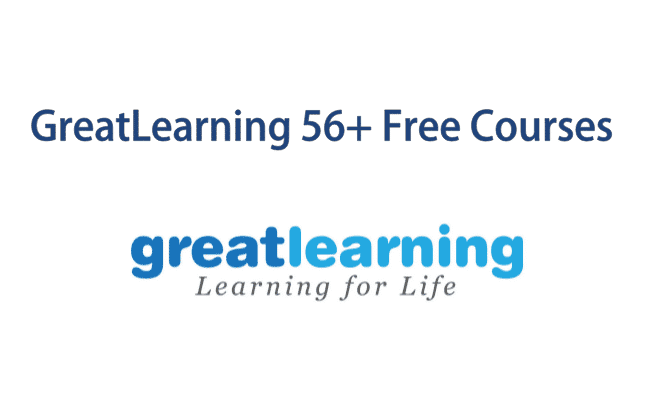 GreatLearing Offering 56+ Free Courses During the Lockdown | Greatlearing Free Courses