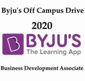 Byju's Recruitment 2020 | Byju's careers | Byju's Hiring Freshers | Byjus Careers 2020