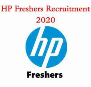 HP Freshers Recruitment 2020 | HP Hiring Freshers | HP Careers