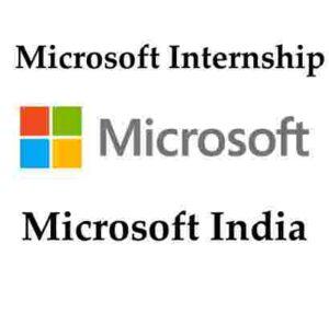 Microsoft Internship 2020 | Microsoft India Software Internship | Microsoft India Careers | Microsoft Careers