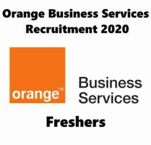 Orange Business Services Recruitment 2020 | Orange Business Services Hiring Freshers System Software Engineer