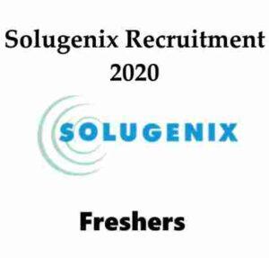 Solugenix Recruitment 2020   Solugenix Hiring Trainee   Solugenix Careers