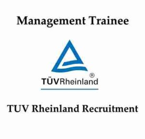 TUV Rheinland Recruitment 2020   TUV Rheinland Careers   TUV Hiring Trainee
