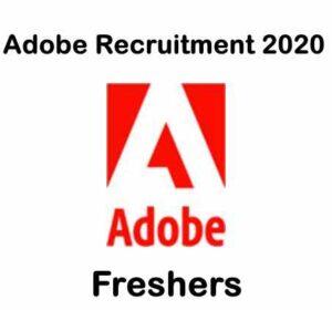 Adobe Recruitment 2020 | Adobe Hiring Software Engineer | Adobe Careers 2020
