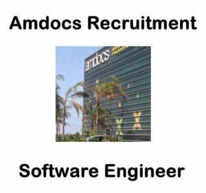 Amdocs Recruitment For Software Engineer | Amdocs Careers 2020