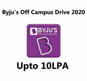 Byju's Recruitment 2020 | Byju's Hiring Process