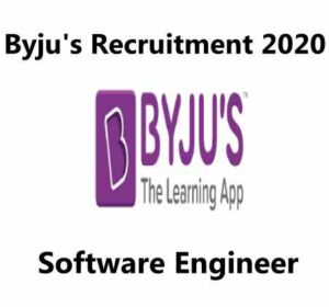 Byju's Recruitment 2020 | Software Engineer | Byju's Recruitment Process
