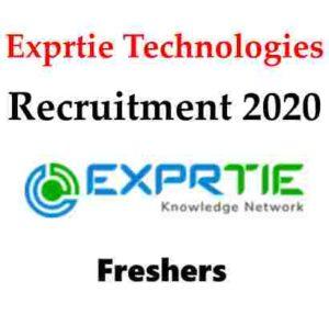 Exprtie Technologies Recruitment 2020   Exprtie Technologies Hiring Freshers   Exprtie Technologies Careers