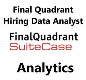Final Quadrant Hiring Data Analyst | Data Analytics Jobs | Remote Jobs