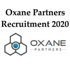 Oxane Partners Recruitment 2020 | Oxane Partners Hiring Frehers | Oxane Partners Jobs