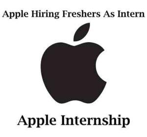 Apple Data Analyst Internship 2021 | Data Analyst Jobs
