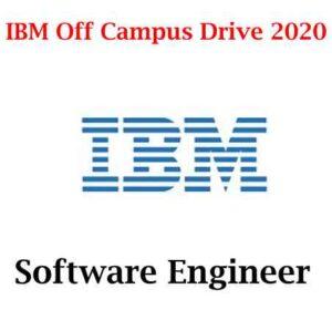 IBM Off Campus Drive 2020 | Software Engineer | IBM Hiring Software Developer