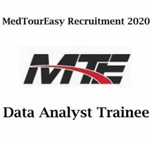 MedTourEasy Recruitment 2020 | Data Analyst Trainee | Remote