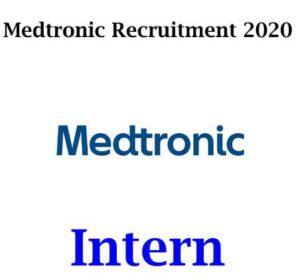 Medtronic Internship 2020