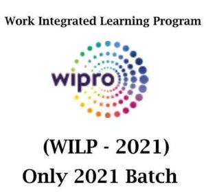 Wipro WILP Hiring Event 2021 | BCA/B.Sc | 2021 Batch