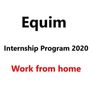 Equim Internship Program 2020