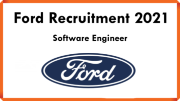 Ford Recruitment 2021